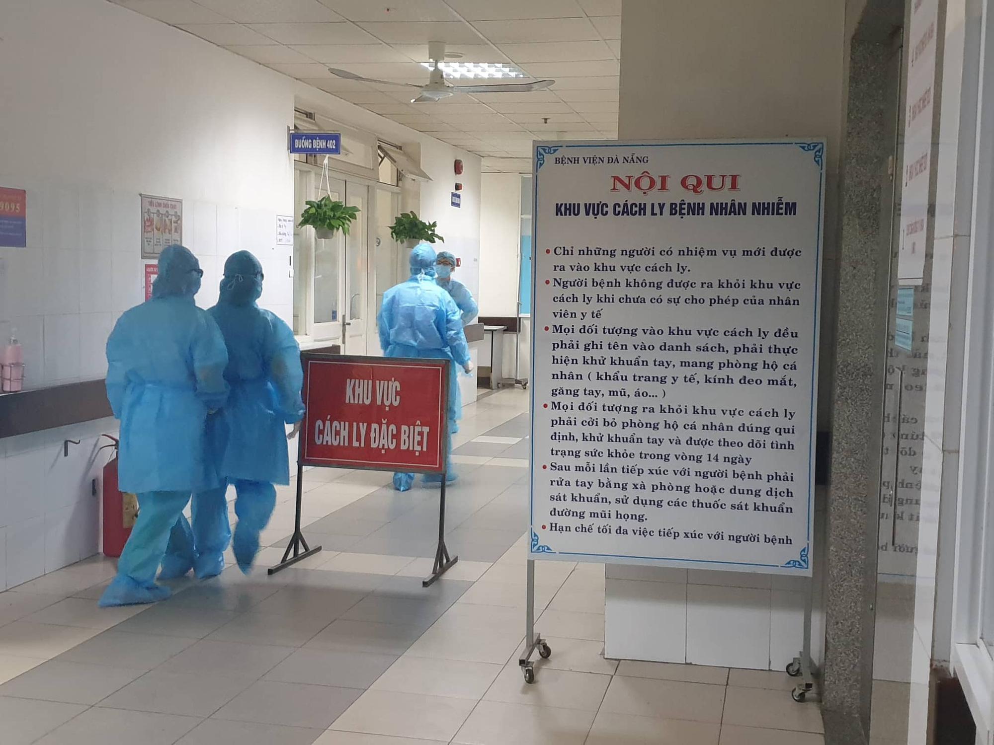 Đà Nẵng tạm dừng việc thăm bệnh nhân đang điều trị tại các bệnh viện - Ảnh 1.