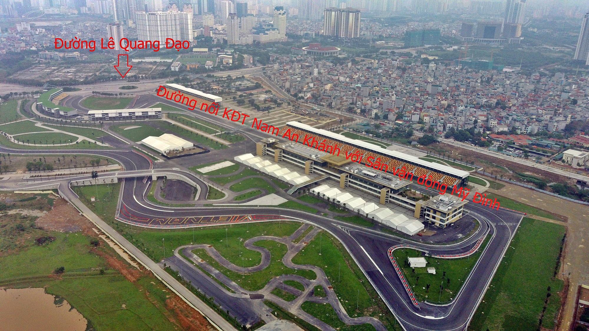 Đường sẽ mở theo qui hoạch ở Hà Nội: Toàn cảnh đường nối KĐT Nam An Khánh đến Sân vận động Mỹ Đình - Ảnh 4.