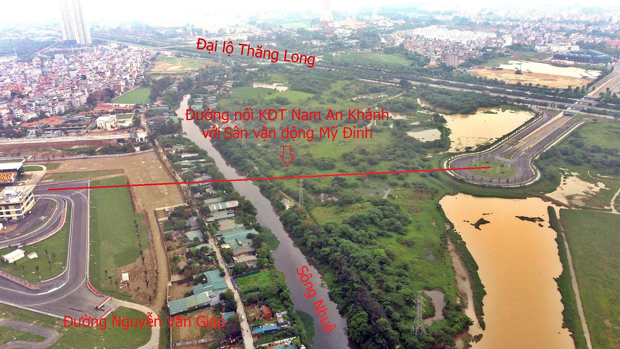 Đường sẽ mở theo qui hoạch ở Hà Nội: Toàn cảnh đường nối KĐT Nam An Khánh đến Sân vận động Mỹ Đình - Ảnh 5.