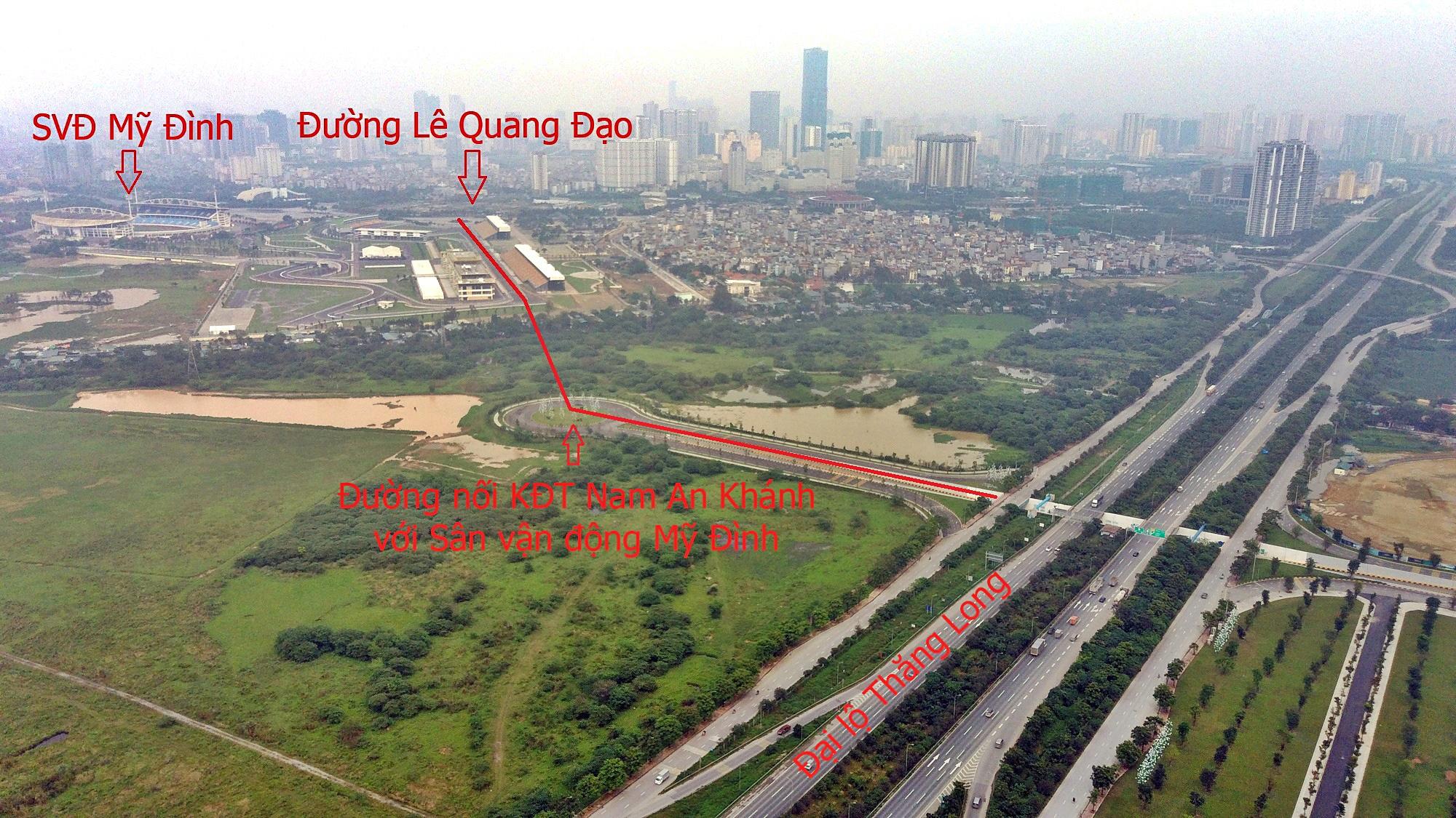 Đường sẽ mở theo qui hoạch ở Hà Nội: Toàn cảnh đường nối KĐT Nam An Khánh đến Sân vận động Mỹ Đình - Ảnh 7.