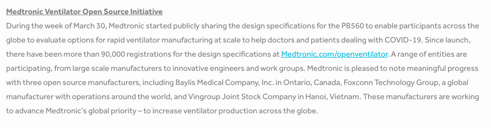 Vượt qua 90.000 đơn đăng kí, Vingroup chính thức trở thành 1 trong 3 đơn vị được cấp bản quyền sản xuất máy thở trên thế giới - Ảnh 1.