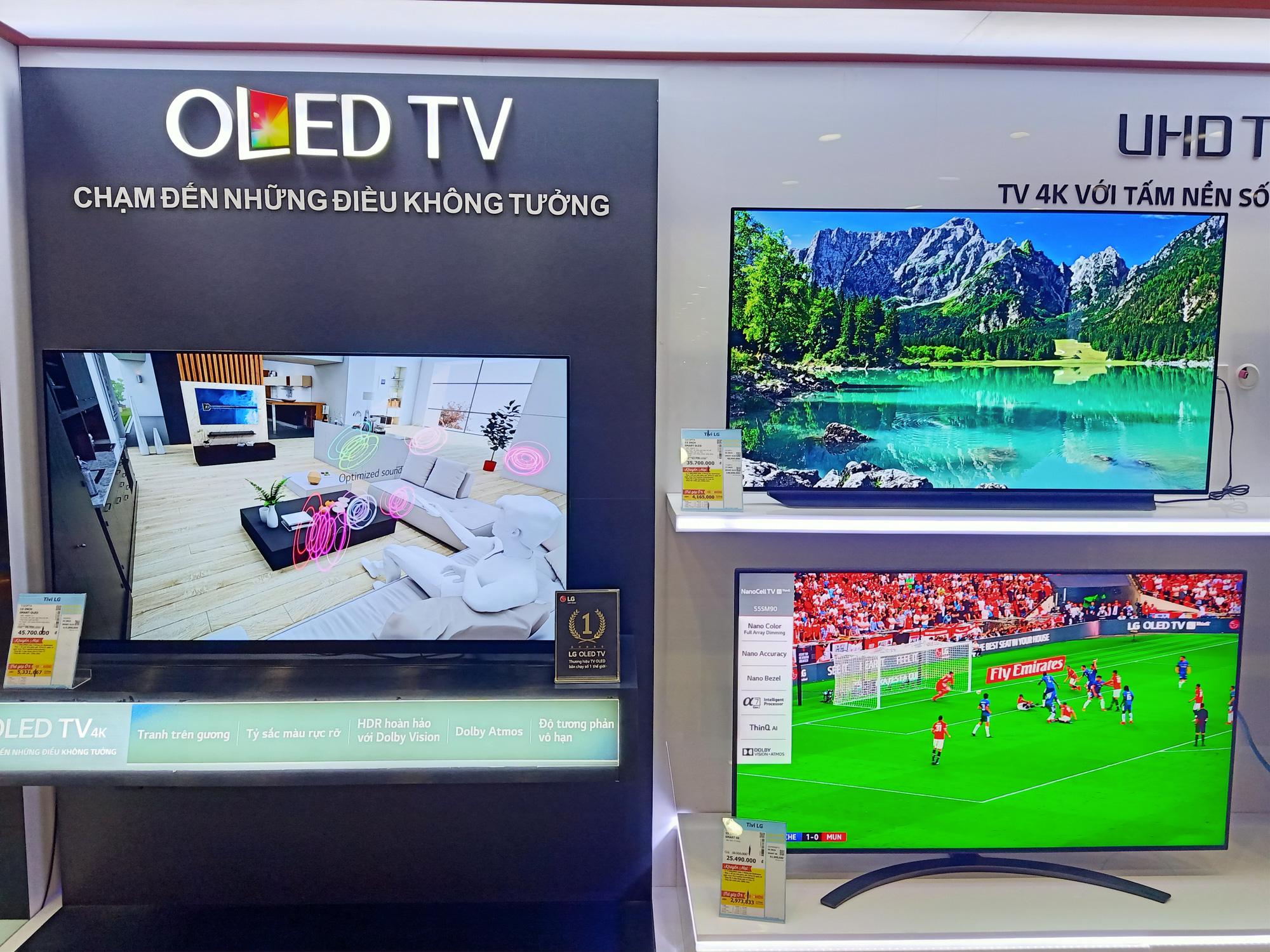Nhiều tivi giảm giá kích cầu mua sắm để phục vụ cho nhu cầu giải trí tại gia - Ảnh 5.