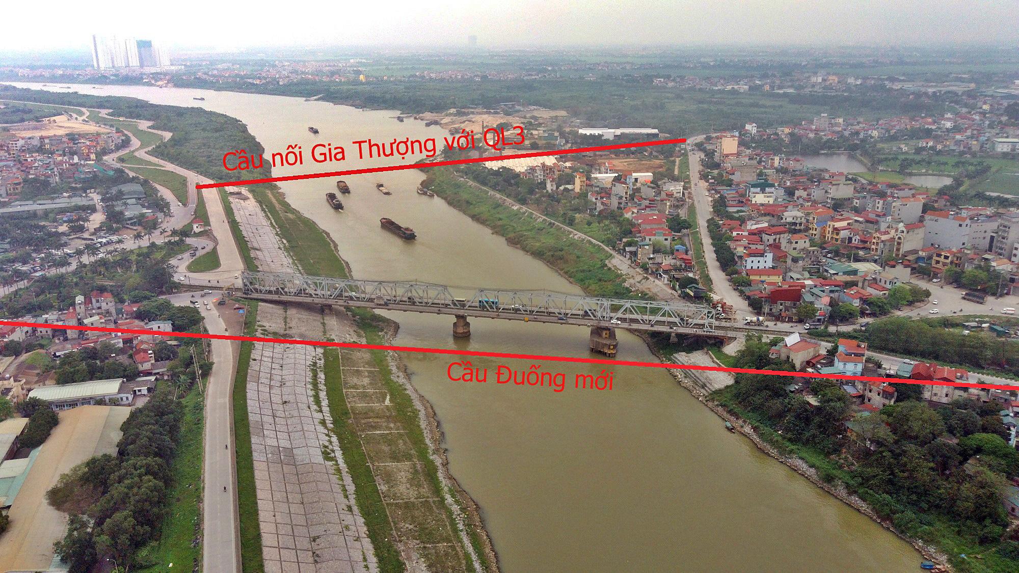 Những dự án sẽ hưởng lợi từ qui hoạch cầu Đuống mới - Ảnh 2.