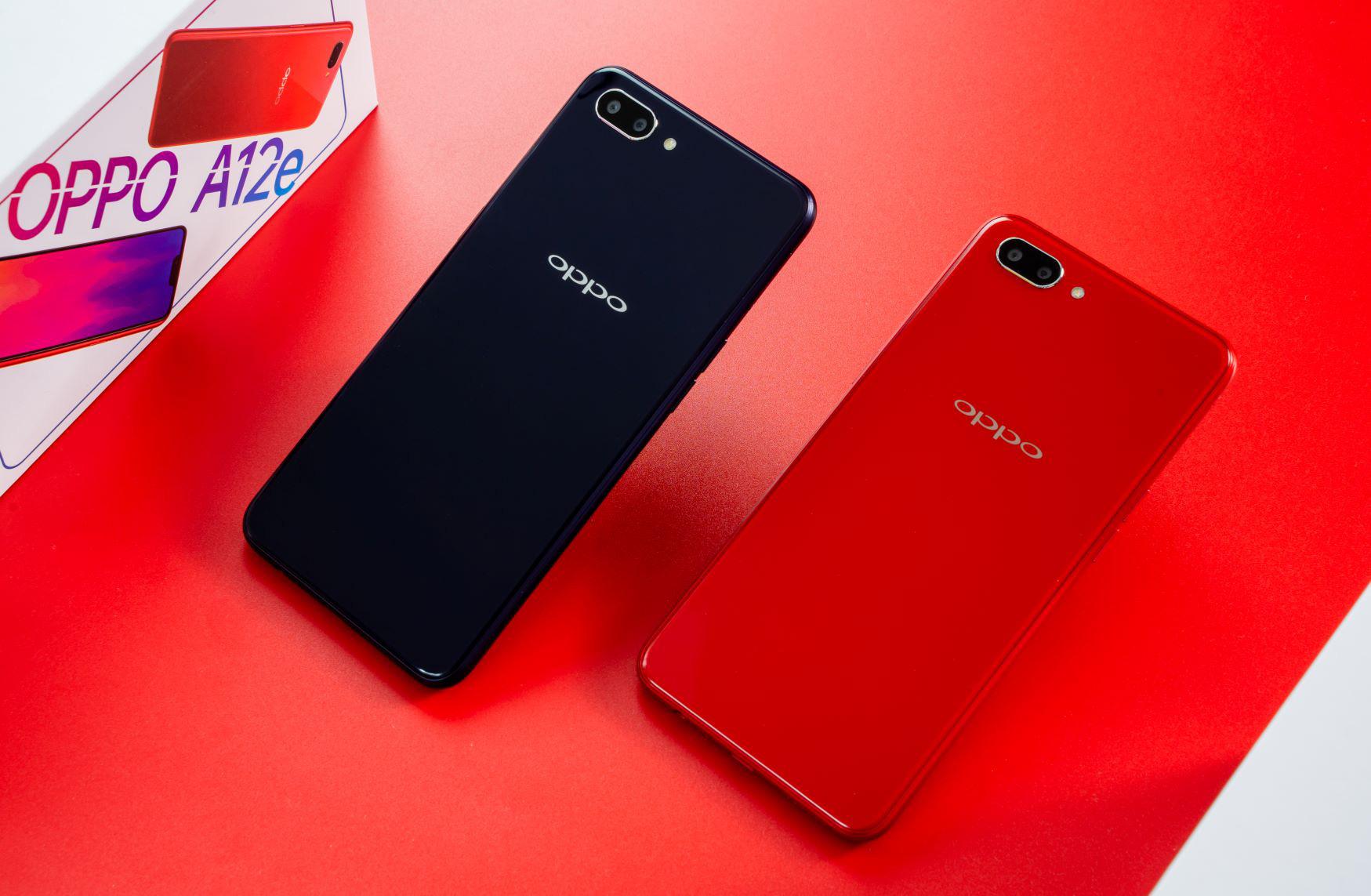 Thị trường điện thoại dưới 3 triệu thêm tân binh mới từ OPPO A12e: Pin lâu hơn, camera kép - Ảnh 1.