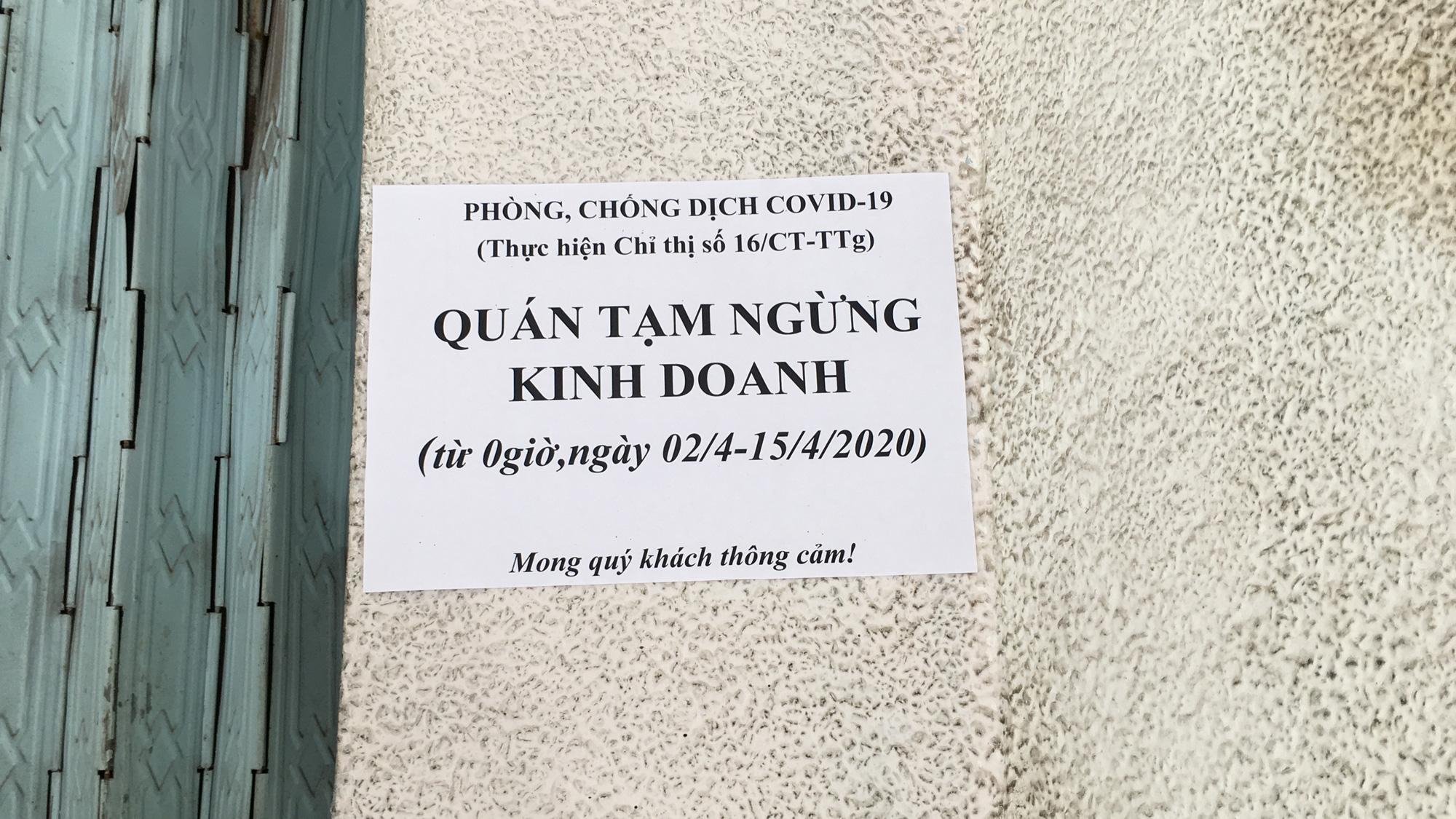 Từ quán cà phê, bánh ngọt đến trà sữa ở Đà Nẵng dừng luôn việc bán online, mang đi khi chính quyền cấm - Ảnh 16.