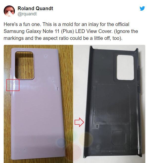 Galaxy Note 20 lộ diện thiết kế sở hữu cụm camera giống S20 Ultra - Ảnh 1.