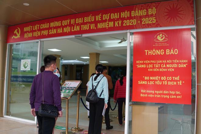 BN243 điền toàn bộ vào ô 'không' khi khai báo y tế ở BV Phụ sản Hà Nội - Ảnh 1.