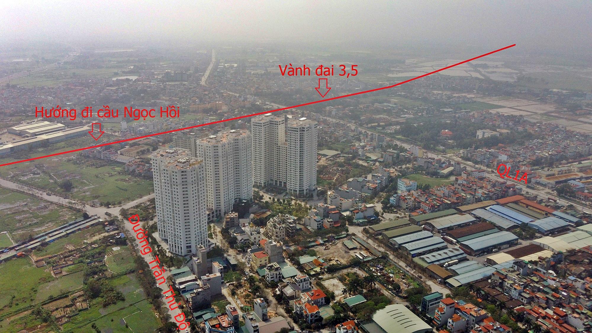 Cầu sẽ mở theo qui hoạch ở Hà Nội: Toàn cảnh cầu Ngọc Hồi nối Hà Nội với Hưng Yên - Ảnh 1.