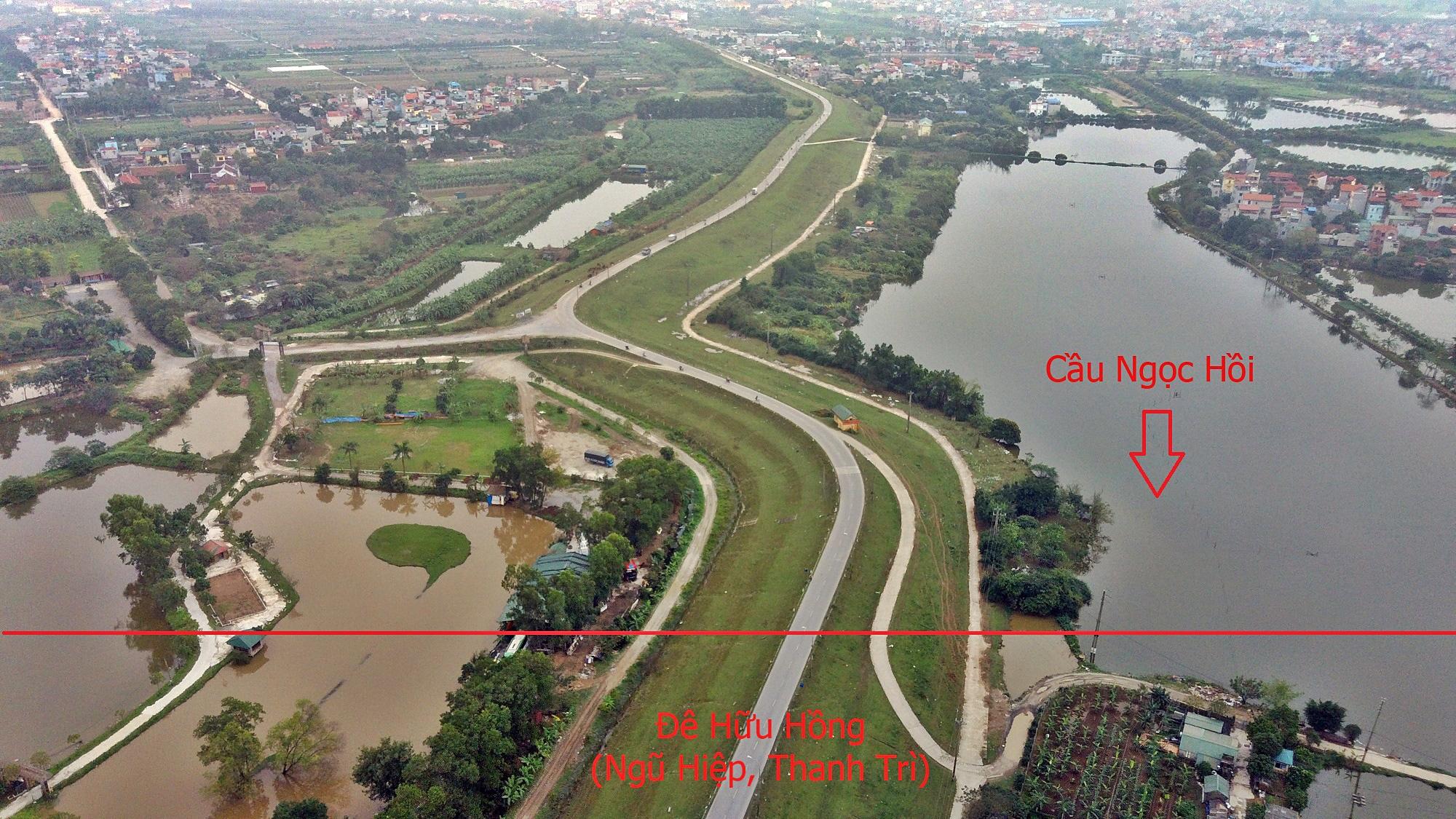 Cầu sẽ mở theo qui hoạch ở Hà Nội: Toàn cảnh cầu Ngọc Hồi nối Hà Nội với Hưng Yên - Ảnh 10.