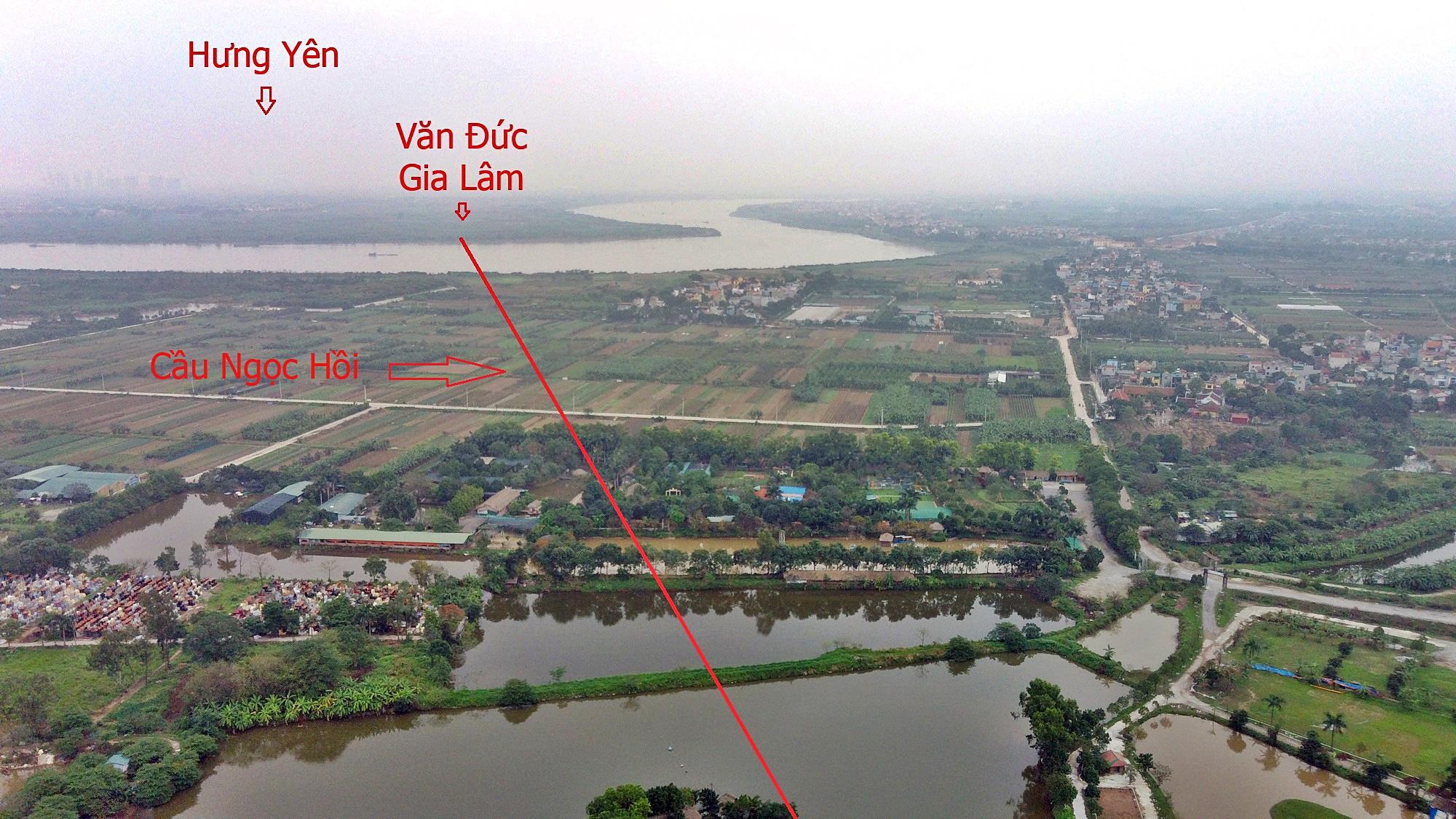 Cầu sẽ mở theo qui hoạch ở Hà Nội: Toàn cảnh cầu Ngọc Hồi nối Hà Nội với Hưng Yên - Ảnh 11.