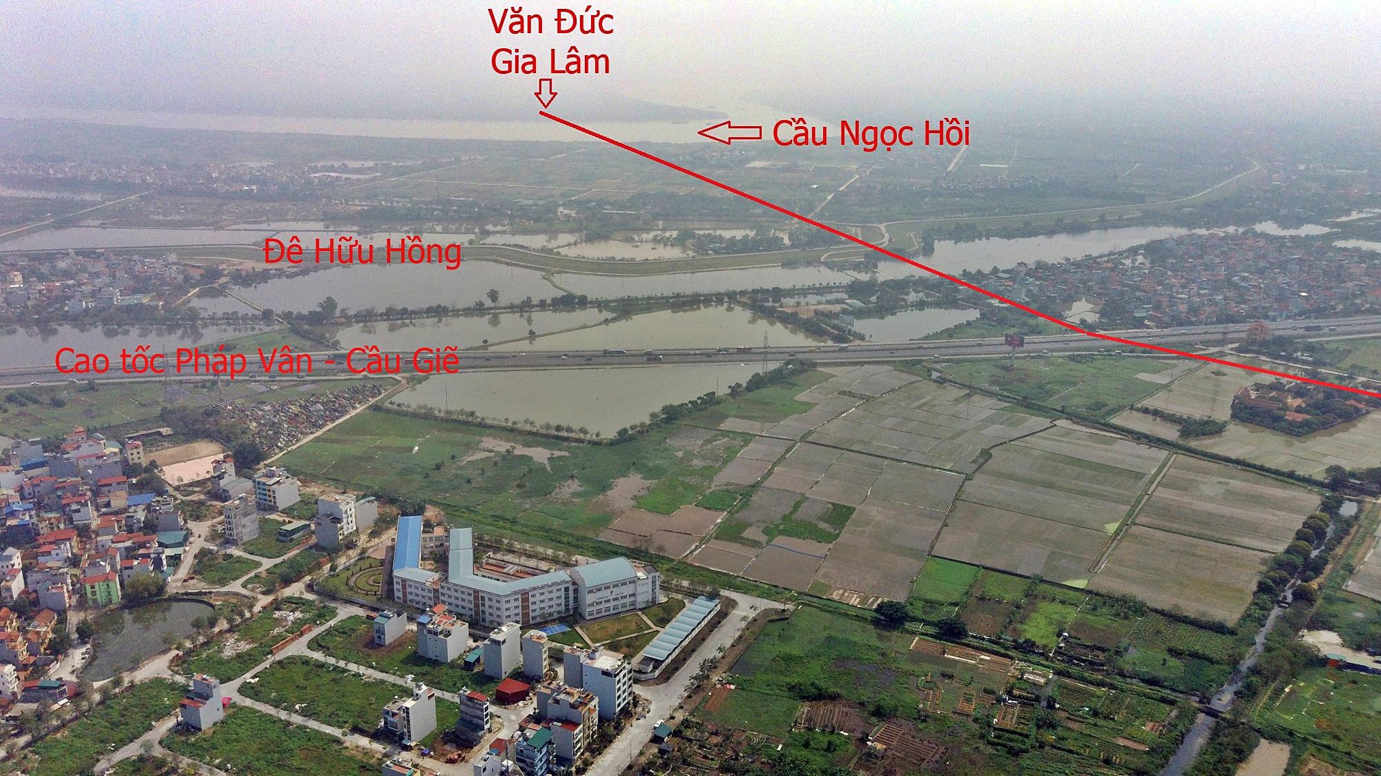 Cầu sẽ mở theo qui hoạch ở Hà Nội: Toàn cảnh cầu Ngọc Hồi nối Hà Nội với Hưng Yên - Ảnh 4.