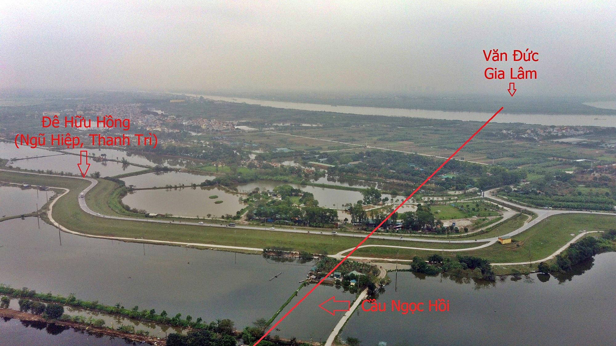 Cầu sẽ mở theo qui hoạch ở Hà Nội: Toàn cảnh cầu Ngọc Hồi nối Hà Nội với Hưng Yên - Ảnh 9.