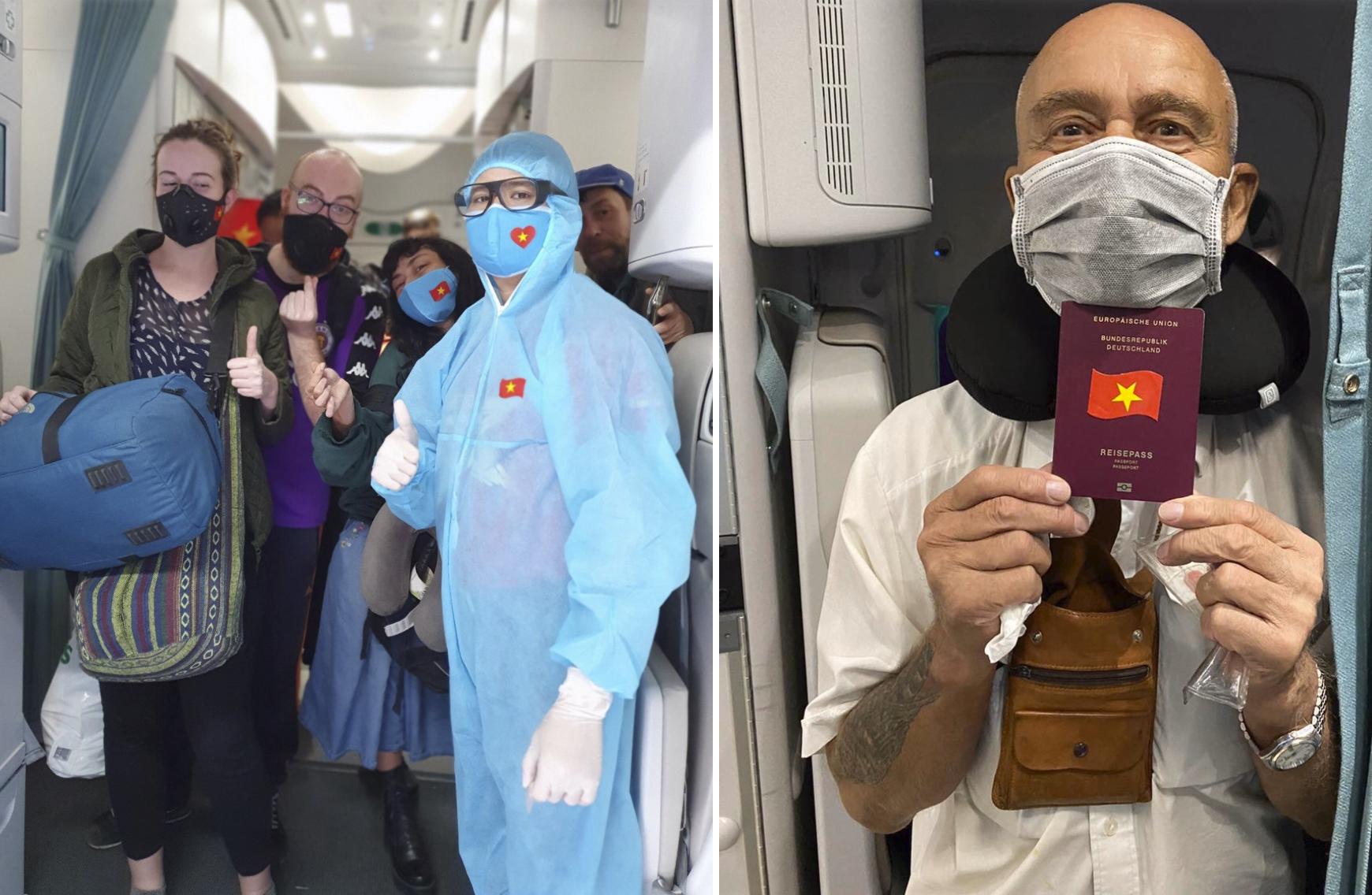 Vietnam Airlines thực hiện chuyến bay đặc biệt đưa 600 người nước ngoài hồi hương khi dịch Covid-19 đang phức tạp - Ảnh 1.