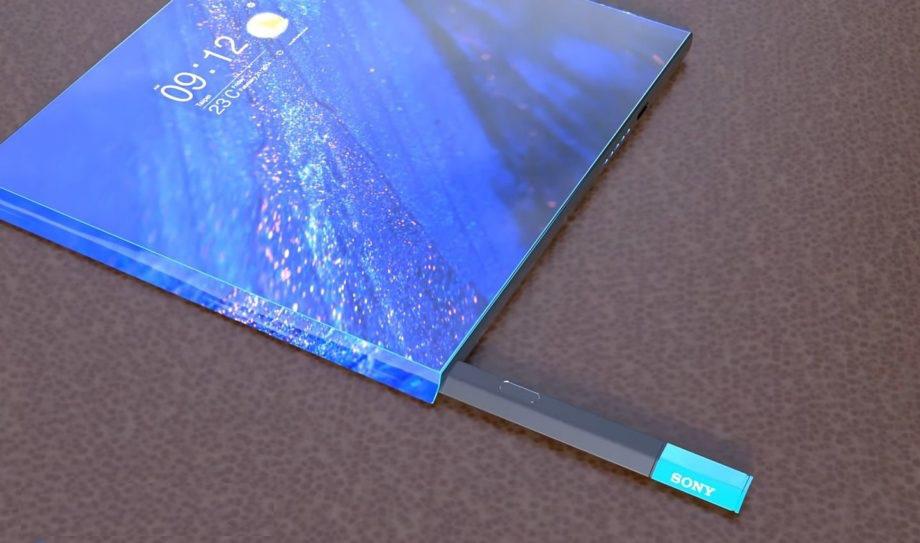 Concept Xperia XZ5 màn hình gập độc đáo khiến fan của hãng Sony thích mê - Ảnh 3.