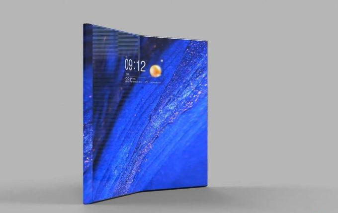 Concept Xperia XZ5 màn hình gập độc đáo khiến fan của hãng Sony thích mê - Ảnh 1.