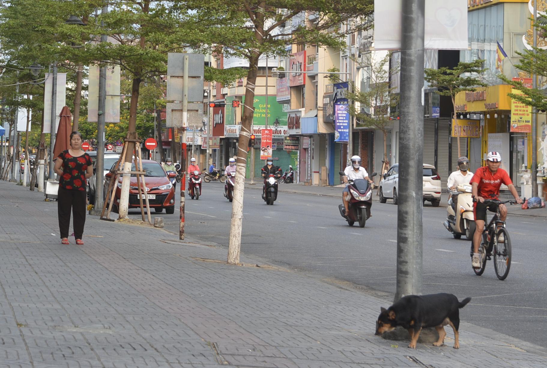 Đà Nẵng: Nhiều người không đeo khẩu trang, ra đường đông như không có cách li xã hội - Ảnh 9.