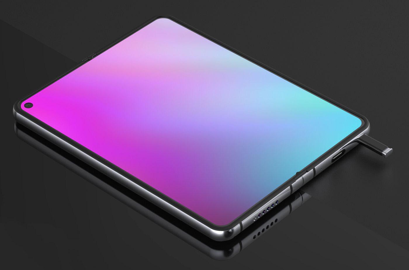 Chiêm ngưỡng concept Samsung Galaxy Note Fold siêu chi tiết - Ảnh 1.