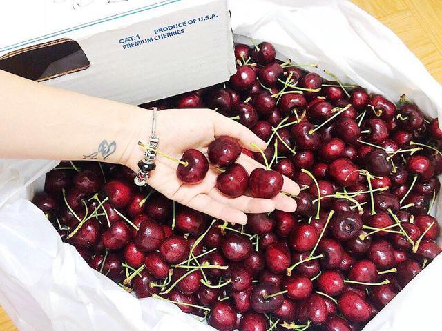 cherry vip sang chanh gia trieu bac tuan van ban vai tram kg cho dai gia