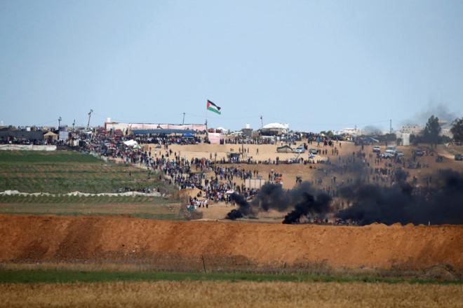 bung no xung dot israel palestine ngay khi my mo dai su quan tai jerusalem
