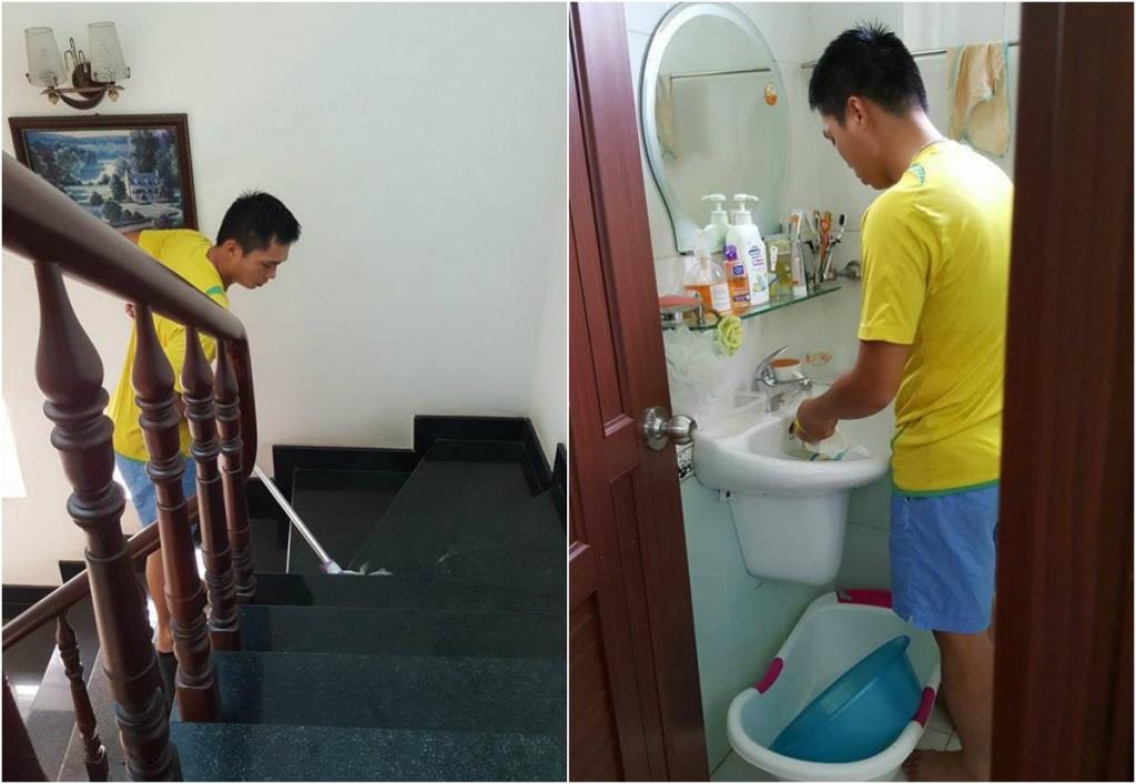 Kết quả hình ảnh cho chồng làm việc nhà