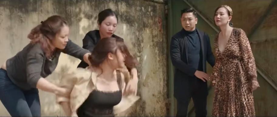 chay tron thanh xuan tap 13 vy bi danh ghen hoi dong
