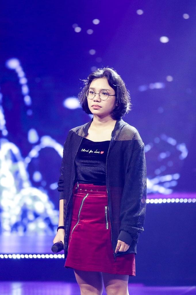 phuong khanh phan tran ve su co khong thuoc loi bai hat trong the debut tap 8