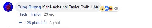 tung duong khong the nghe noi taylor swift 1 bai