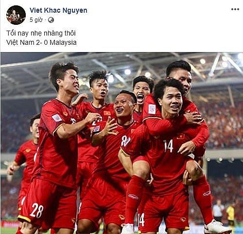 muon cach co vu cua sao viet truoc chung ket aff cup 2018 viet nam malaysia