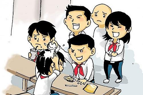 Kết quả hình ảnh cho tuân thủ và bắt nạt học đường
