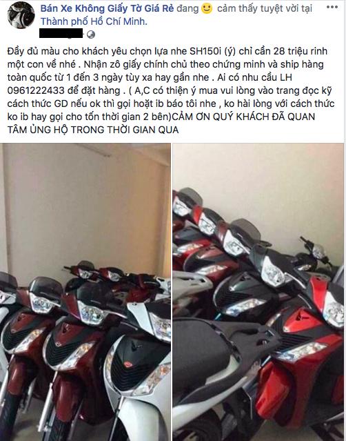 30 trieu dongxe sh xe trom cap hoa kiep xe that nhan nhan hau world cup