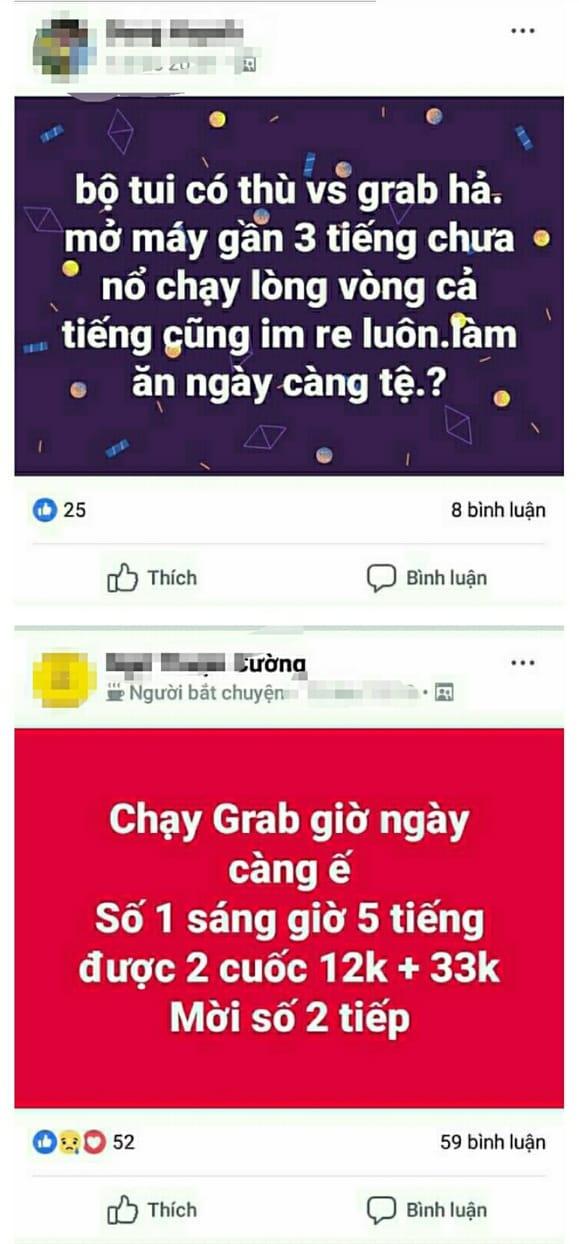 tai xe grab khoc do meu do vi chuong trinh dong gia 1000 dong cua go viet