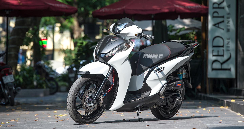 Giá xe máy Honda ngày 2/10/2018 dòng xe SH bất ngờ tăng mạnh