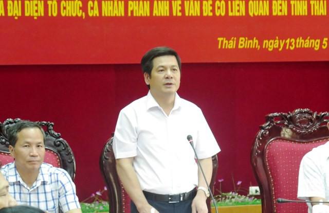ong nguyen hong dien duoc duoc bau lam bi thu tinh uy thai binh