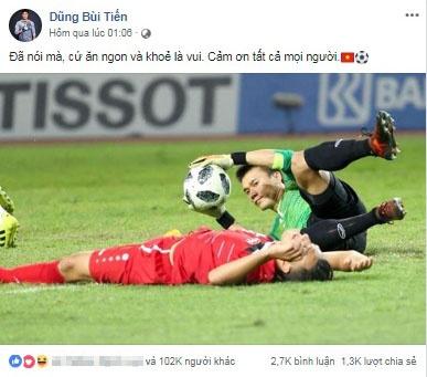 cac tuyen thu olympic viet nam len tinh than truoc tran ban ket voi olympic han quoc