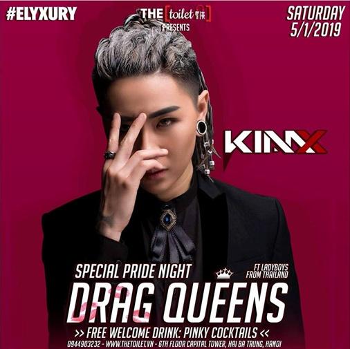 drag queens dai tiec mau hong diem hen van minh cho gioi lgbt