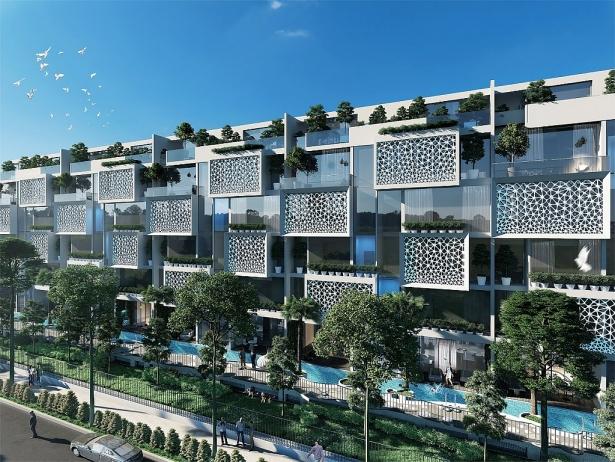 evergreen chinh thuc gioi thieu sieu biet thu city villas
