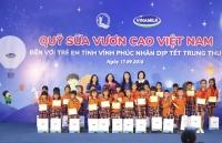 vinamilk dong hanh cham soc suc khoe cho 1000 nguoi cao tuoi