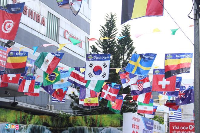 quan xa cua hang o sai gon thay ao world cup mong tang doanh thu
