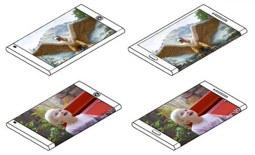 ba y tuong smartphone man hinh kep cua samsung