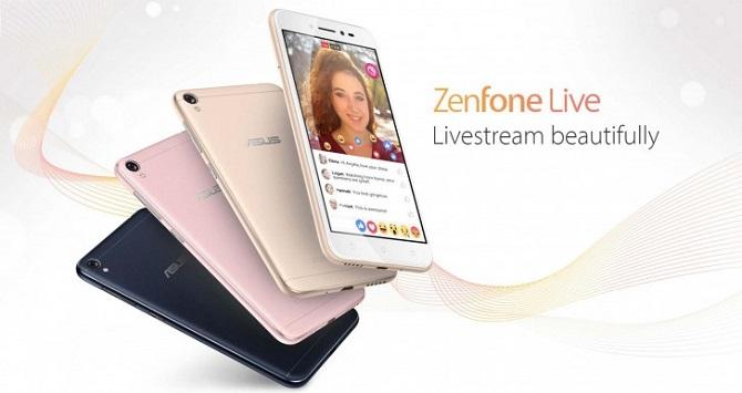 asus ra mat zenfone live chiec smartphone giup ban livestream ao dieu hon