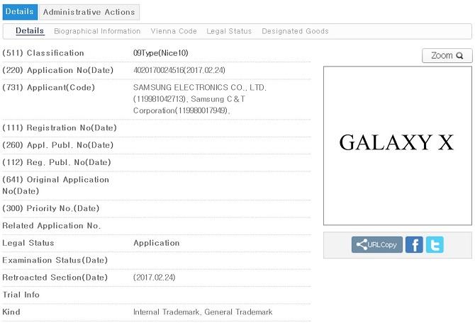 lo dien smartphone man hinh gap samsung galaxy x