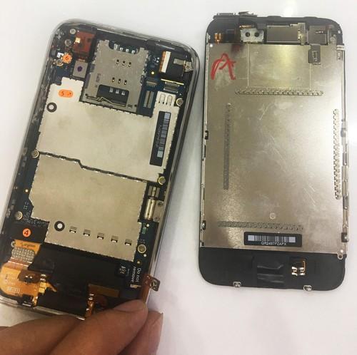 iphone 3gs chua kich hoat gia re tran vao viet nam