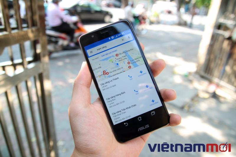 google maps them chuc nang ra lenh bang giong noi ho tro ca tieng viet ban da thu chua