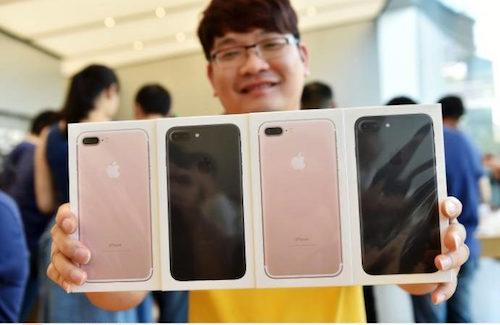 iphone 7 bi tay chay tai trung quoc
