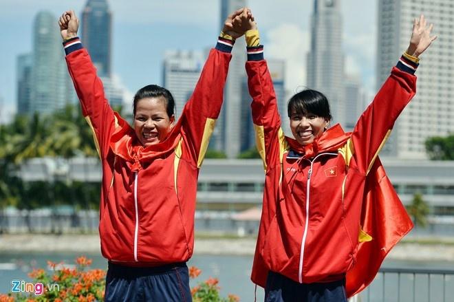 doi rowing giai con khat vang cho doan viet nam tai asiad 18