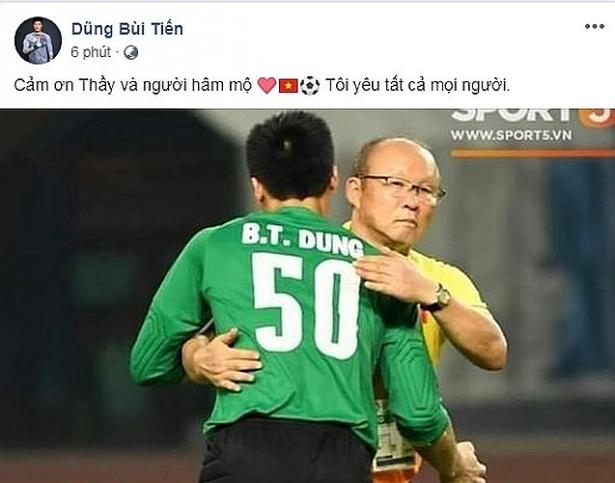 dan cau thu olympic viet nam dong loat viet status xin loi nguoi ham mo