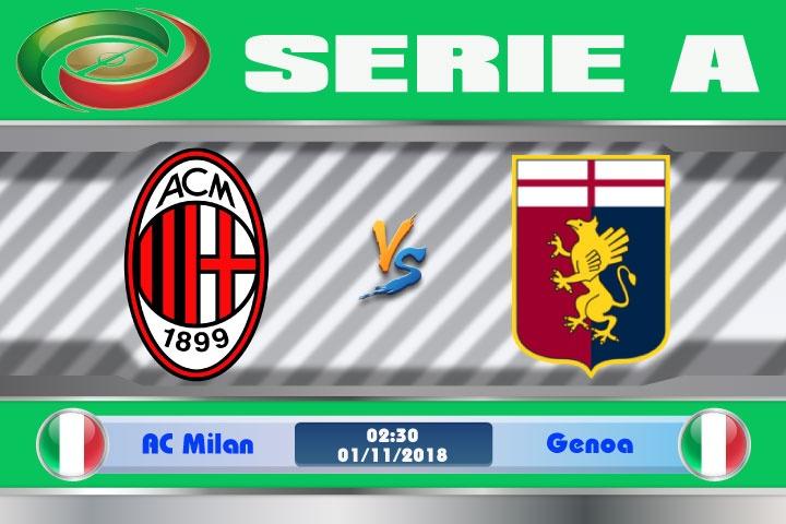 Nhận định AC Milan vs Genoa, vòng 10 Serie A 2018-2019 | Việt Nam Mới