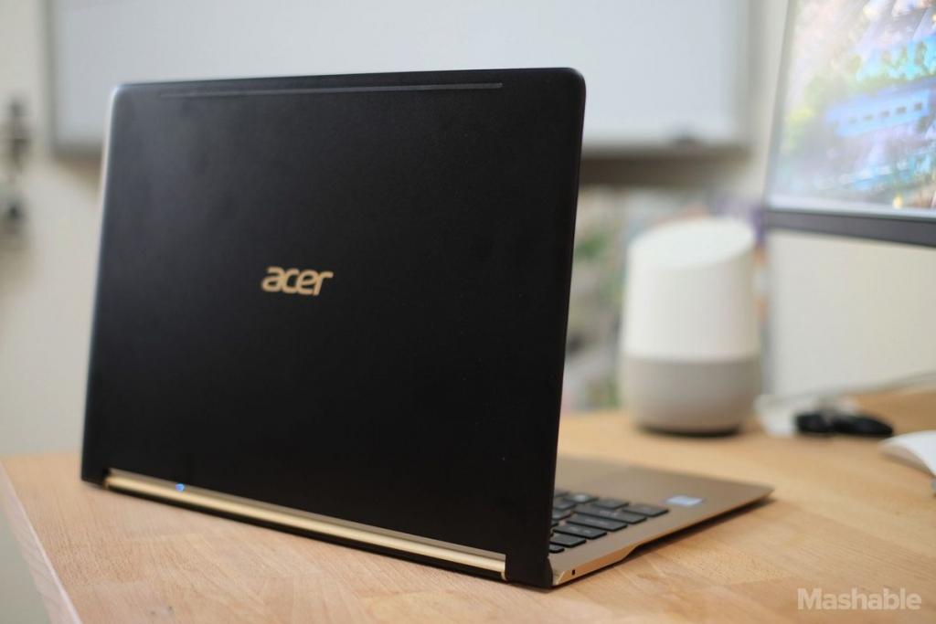 laptop mong nhat the gioi acer swift 7 doi trong moi cua macbook