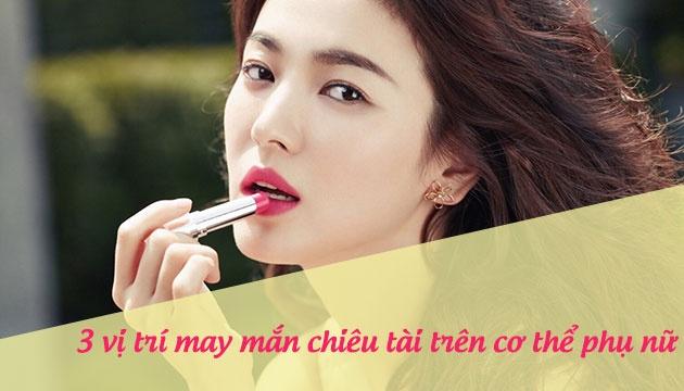 phu nu 3 vi tri nay tren co the cang hong hao hon nhan cang may man hanh phuc