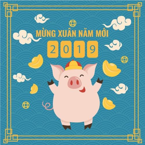 nhung mau thiep chuc mung nam moi 2019 don tet ky hoi dep nhat